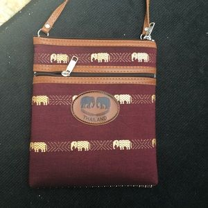 Other - Thailand cross body purse